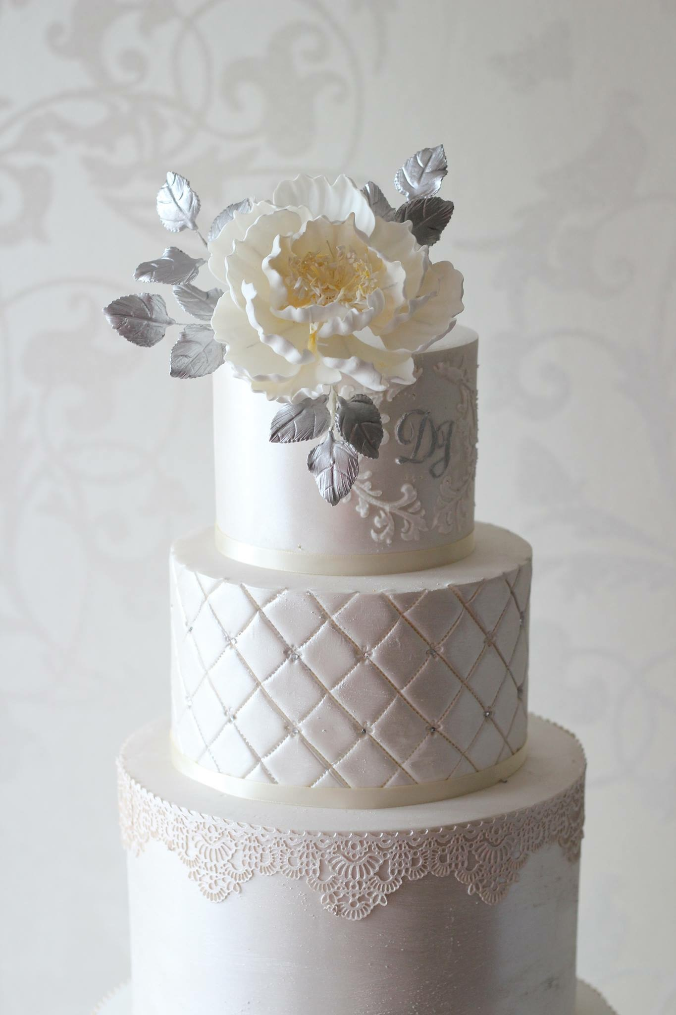 Melbourne Silver Wedding Cakes