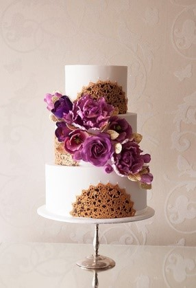 wedding cakes floral