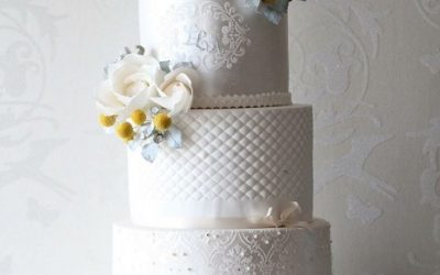 Classic and Delectable Pearl Wedding Cakes
